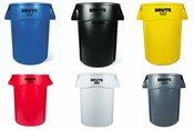 Rubbermaid� BRUTE� Round Container - 44 Gallon