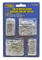 Cal Hawk Tools 3704 100 piece Rivet Set