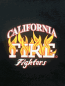 California Fire Fighters Hazaradous Materials T- Shirts