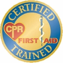 Emedco, Certified CPR First Aid Trained Recognition Pin