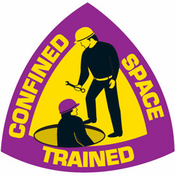 Emedco, Confined Space Rescue Trained Sticker