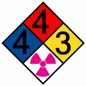 Copy of the NFPA 704M Standard