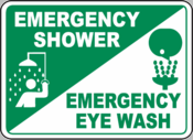 Emergency Shower and Eyewash Stations