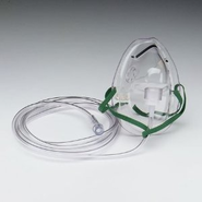 Disposable Oxygen Mask (Latex Free)