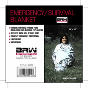 Emergency Solar Blanket