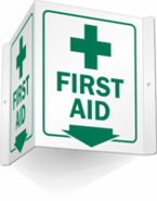 First Aid Sign 3D