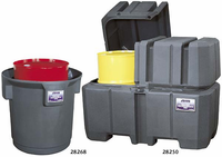 Justrite Gator� Single and Double Drum Collection Centers