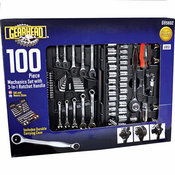Gearhead GH5602 100 Piece Mechanics Tool Set