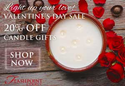 Get 20% off ALL FlashPoint Candles with code: VDAY17