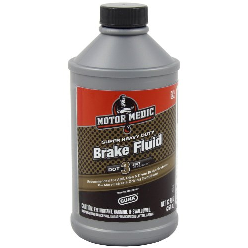 Gunk M44 12 Motor Medic Dot 3 Heavy Duty Brake Fluid