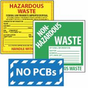 Hazardous Materials / Waste Labels