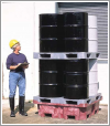 Ultra-Spill King®, Drum Pallet and Sump