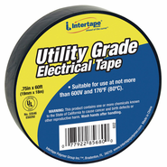 "Intertape, 3/4"" X 60' 7 Mil Electrical Tape Black"