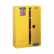 Justrite Safety Cabinet — 45-Gallon, Manual-Close, Sure-Grip EX