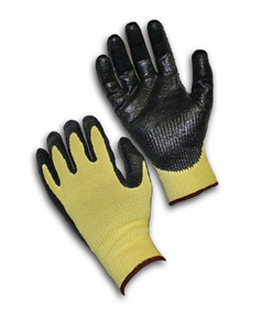 PIP, G-Tek® CR Seamless Knit Kevlar® Glove with Nitrile Coated Smooth Grip on Palm & Fingers - Medium Weight