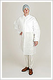 TYVEK TY213SWH Lab Coat