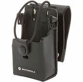 "Motorola, Leather Case With 3"" Swivel, RLN-6302"