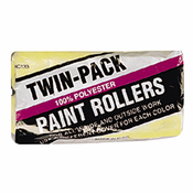 "Linzer, RC133-9 (2 Pack) 9"" x 3/8"" NAP Economy 100% Polyester Roller Covers for Latex Paints"