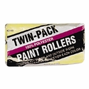 """Linzer, RC133-9 (2 Pack) 9"""" x 3/8"""" NAP Economy 100% Polyester Roller Covers for Latex Paints"""