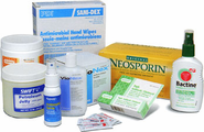 Topical Ointments, Creams, and Antiseptics