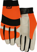 Majestic 2152THV Bald Eagle Hi Vis Gloves