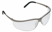 A/O Safety, Metaliks Sport Brushed Nickle Frame Clear - Anti-Fog
