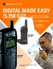 MOTOROLA Radios, Batteries & Accessories - Why Settle For Less?