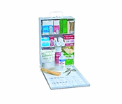 North Safety 34116FP , Industrial First Aid Cabinet For a Small Office Setting 1-5 Persons