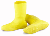 "Onguard 97591 12"" Hazmat Boot Cover, Yellow or Black"