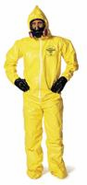 Protection Coveralls With Serged Seams