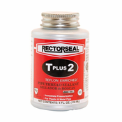 RectorSeal� 23633 T Plus 2� Thread Seal Quarter Pint With Brush Top