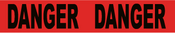 """Red Danger Adhesive Tape 3"""" X 60yds"""