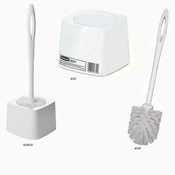 "Rubbermaid Commercial 6310-WHT 14-1/2"" Toilet Bowl Brush W/Plasic Handle White"