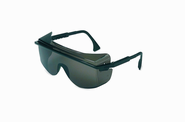 Uvex Astrospec OTG 3001 Safety Eyewear, Black Frame, Gray UV Extreme Anti-Fog Lens, S2504C