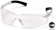 Pyramex, S2510S, Ztek, Clear Lens / Frame Safety Glasses / Eyeware  Ztek Anti-Fog S2510ST