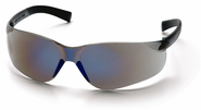 Pyramex, Mini Ztek, Safety Glasses, Blue Mirror Lens S2575SN