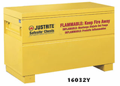 Justrite, Safesite® Chests for Storage of Flammables
