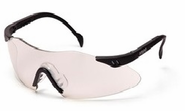 Pyramex, Intrepid, Safety Glasses, Clear Lens, Clear Frame