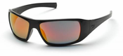 Pyramex, Goliath, Safety Glasses, Ice Orange Mirror SB5645D