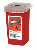 Pro-Tec, Sharps Container, Red P-1Q