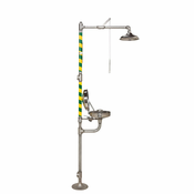 Haws, AXION® MSR Combination Corrosion Resistant Shower and Eye/Face Wash