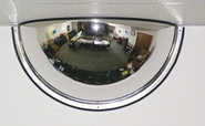SMUSA 18 Inch SE_180-18 180 Degree Viewing 1/2 Dome Mirror