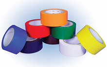 NMC,  Solid Color Safety Tapes, T204, Red
