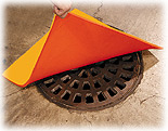 Specialty Spill Control, Urethane Mat, Drainguard Drain Cover