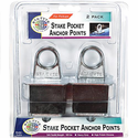 STA-TYTE T273 Stake Pocket anchor Point 2 Pk