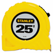 """Stanley 30-455 1"""" X 25' Yellow Tape Rule"""