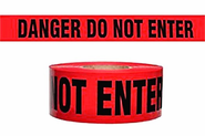 Berry Plastics 573-7000023P Barricade Tape Danger Do Not Enter, 3X1000FT, 2 MIL