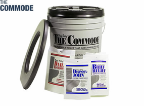 The Commode Porta Quick Economy Pack