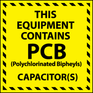 National Marker,This Equipment Contains PCB, 6X6, PS Vinyl, 25/PK Item # HW12