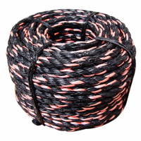 """Truckers Rope, 3/8"""" x 50' top quality heavy duty poly rope, 9277D"""